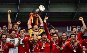 Spain's 2012 Euro Cup Win!