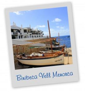 Binibeca Vell Menorca Blue