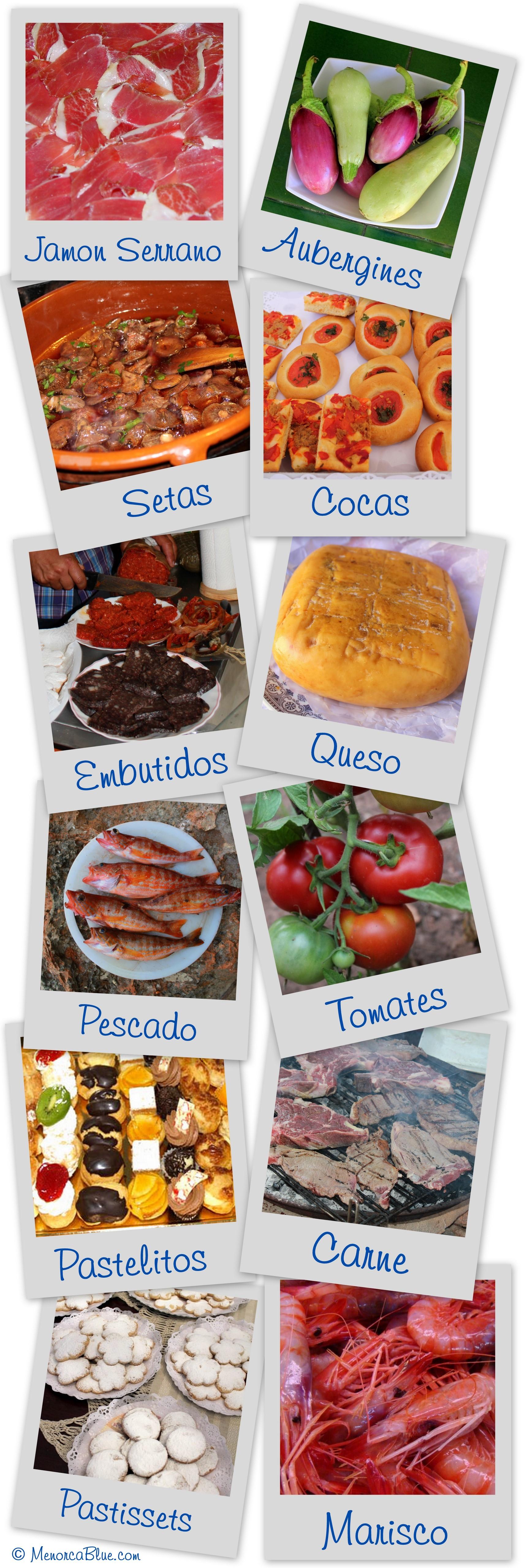 Typical Menorcan Food - Menorca Blue