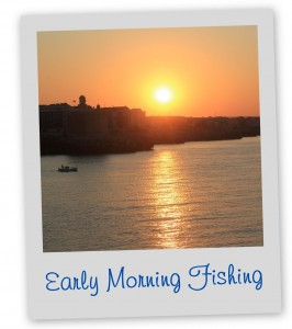 Morning Fishing Menorca Blue