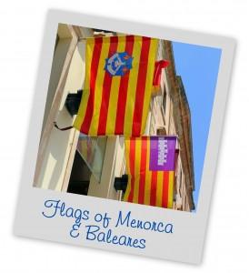 Flags Menorca & Baleares Menorca Blue