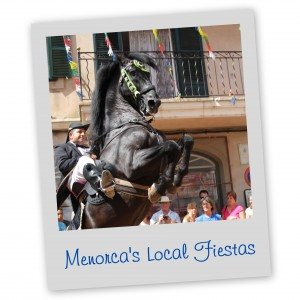 Menorca's Local Fiestas Menorca Blue