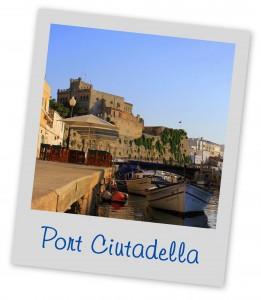 Port Ciutadella Menorca Blue