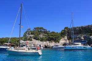 Yachts at Macarella