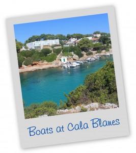 Cala Blanes Menorca Blue