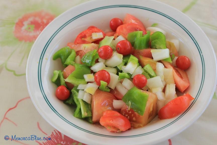 Tomato Salad Menorca