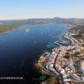Bahia de Fornells Menorca Paramotor