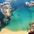 Cala Pregonda Menorca Paramotor