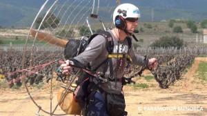 Xavi Entrenando Menorca Paramotor-1